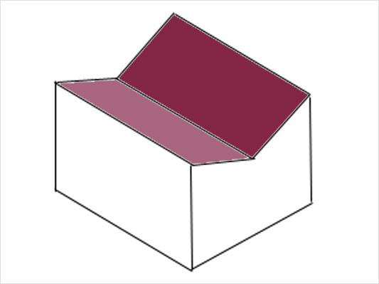 trogdach geneigtes dach dachformen baunetz wissen. Black Bedroom Furniture Sets. Home Design Ideas