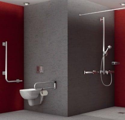 geb udetechnik in barrierefreien bauten geb udetechnik planungsgrundlagen baunetz wissen. Black Bedroom Furniture Sets. Home Design Ideas