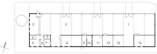 Holzrahmenbau grundriss detail  Schreinerei in Pulling | Solar | Büro/Gewerbe | Baunetz_Wissen