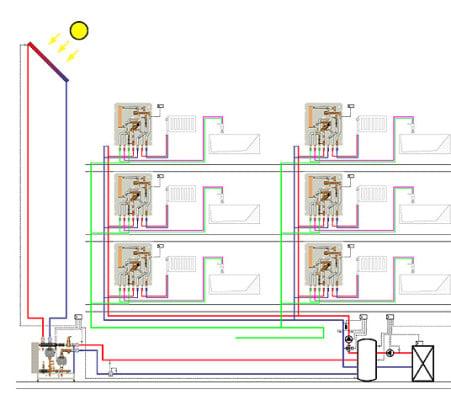 warmwasserbereitung im dezentralen durchflusssystem. Black Bedroom Furniture Sets. Home Design Ideas