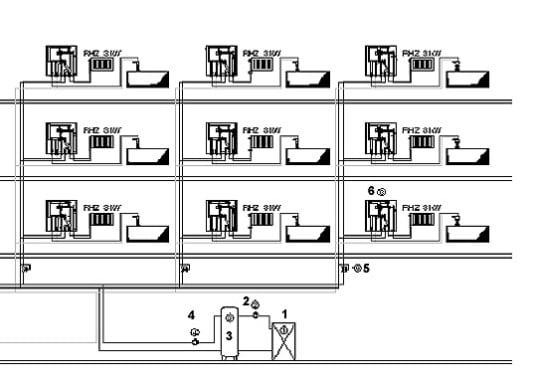 warmwasserbereitung im dezentralen durchflusssystem heizung warmwasserbereitung baunetz wissen. Black Bedroom Furniture Sets. Home Design Ideas