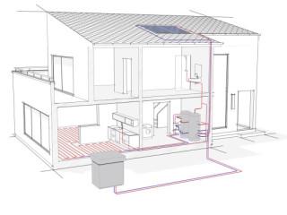 wasser wasser w rmepumpen heizung regenerative energien baunetz wissen. Black Bedroom Furniture Sets. Home Design Ideas
