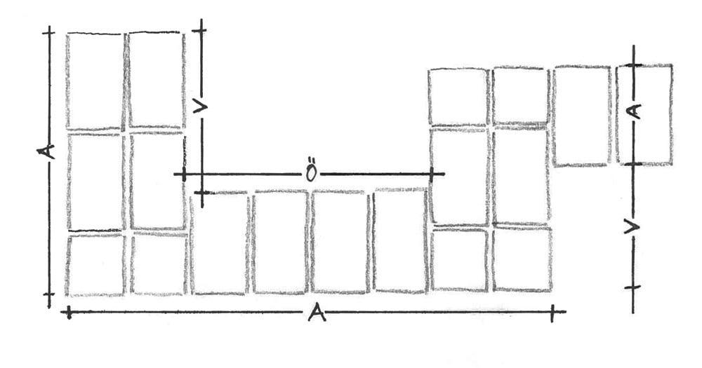 oberfl chen strukturen und farben von mauerwerk. Black Bedroom Furniture Sets. Home Design Ideas