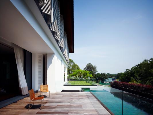 villa in singapur bad und sanit r wohnen baunetz wissen. Black Bedroom Furniture Sets. Home Design Ideas