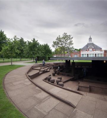 serpentine-pavillon 2012 in london | boden | kultur | baunetz_wissen,