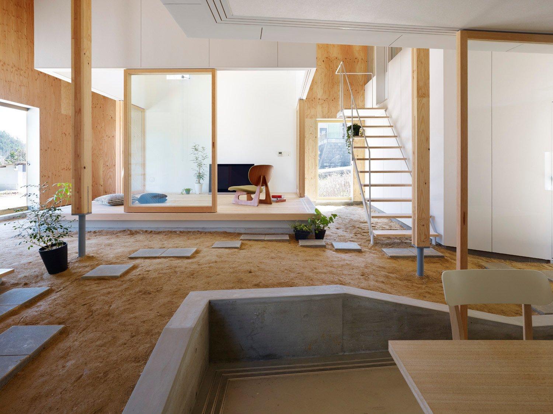 Einfamilienhaus in takaya boden wohnen baunetz wissen - Wohnzimmer podest ...