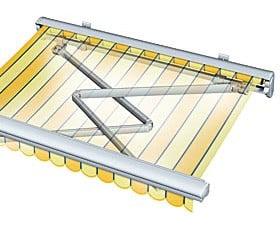 Fassadenmarkisen Sonnenschutz Markisen Baunetz Wissen
