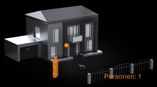 sensor zur personenerfassung sicherheitstechnik news. Black Bedroom Furniture Sets. Home Design Ideas