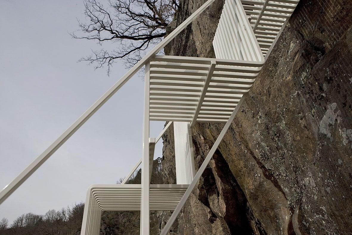 wechselstufentreppen treppen treppenarten baunetz wissen. Black Bedroom Furniture Sets. Home Design Ideas