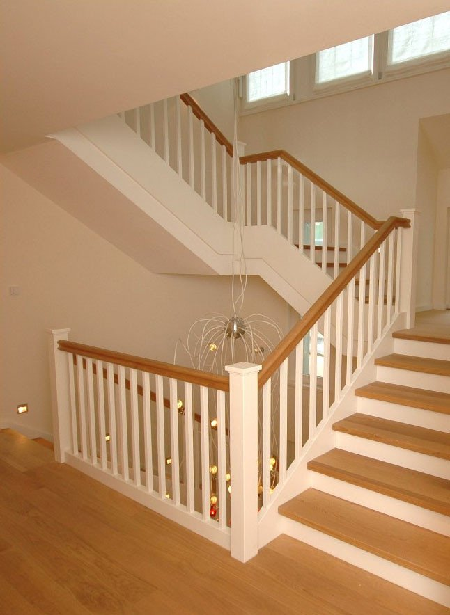 Holztreppen Treppen Materialien Baustoffe Baunetz Wissen