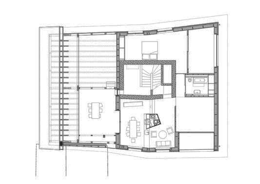 Holzskelettbauweise grundriss  Wohnhaus in Flims | Gesund Bauen | Wohnen | Baunetz_Wissen