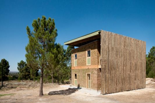 Wohnhaus im village of hope in grabouw gesund bauen for Wohnhaus bauen
