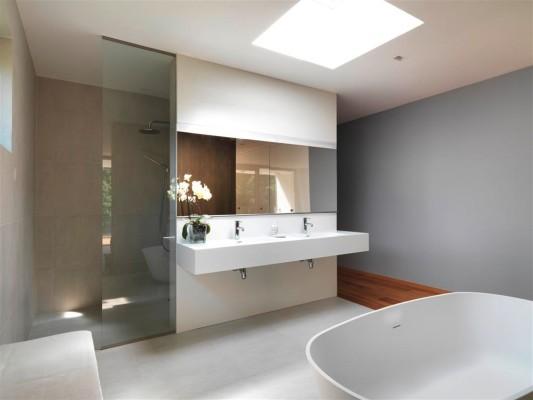 Wohnhaus in Klosterneuburg | Bad und Sanitär | Wohnen | Baunetz_Wissen