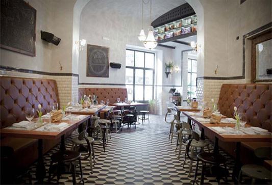 Caffé Propaganda In Rom Fliesen Und Platten HotelGastronomie - Fliesen für restaurant küche