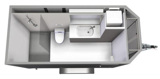mobiles badezimmer | bad und sanitär | news/produkte archiv, Hause ideen