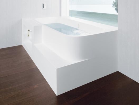 badobjekte aus corian bad und sanit r news produkte archiv baunetz wissen. Black Bedroom Furniture Sets. Home Design Ideas