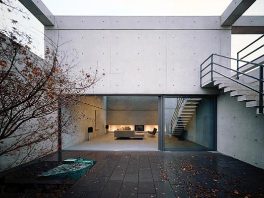 wohnhaus mit atrium in trier bad und sanit r wohnen baunetz wissen. Black Bedroom Furniture Sets. Home Design Ideas