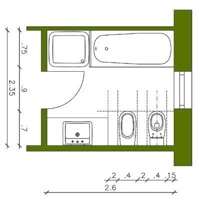 abst nde von sanit robjekten bad und sanit r planungsgrundlagen baunetz wissen. Black Bedroom Furniture Sets. Home Design Ideas