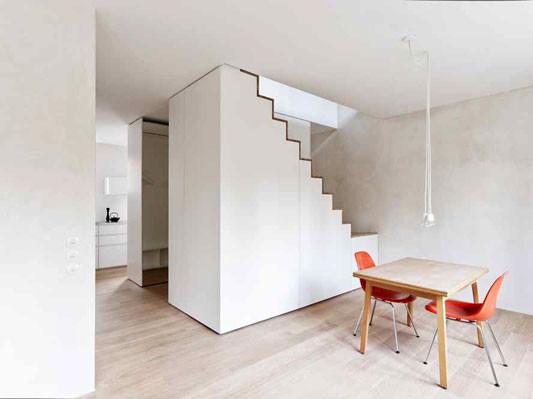 umbau eines gr nderzeitwohnhauses in stuttgart. Black Bedroom Furniture Sets. Home Design Ideas
