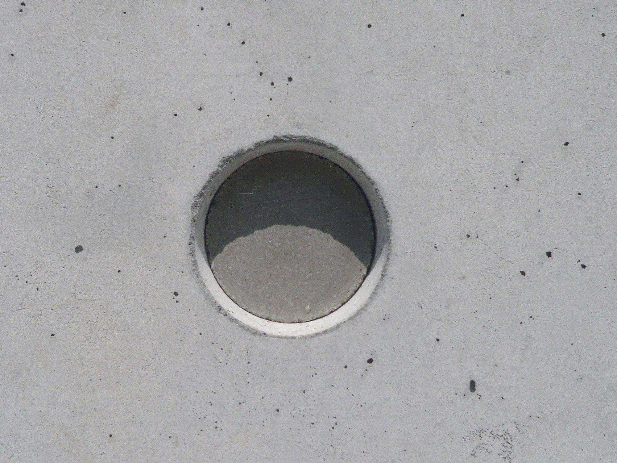 Sichtbeton Detail ankerlöcher beton oberflächen baunetz wissen