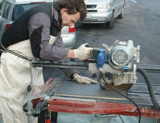 Werkzeuge Fur Die Fliesenbearbeitung Und Anwendung Fliesen Und