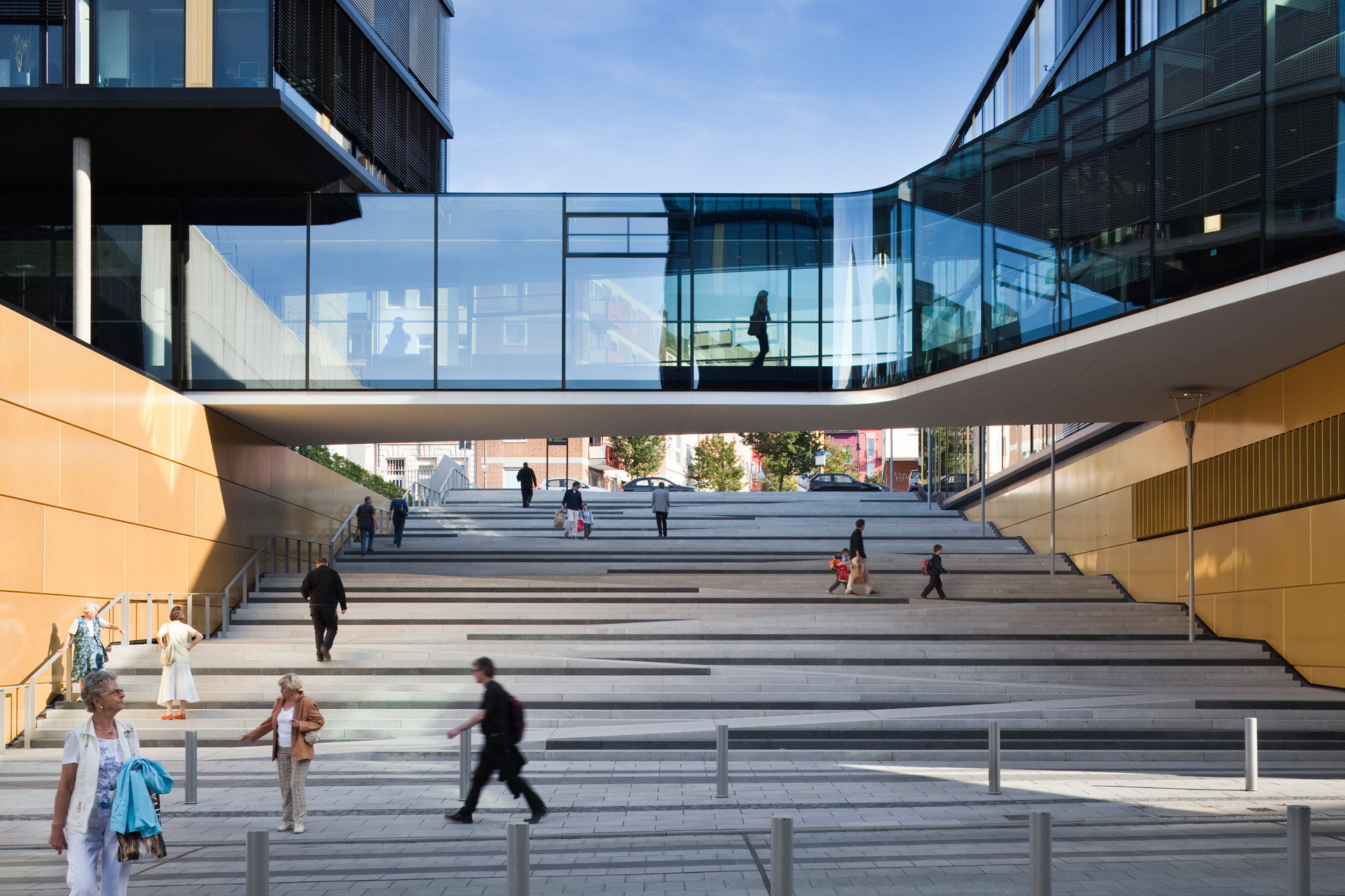 Thereu0027s A Similar Stair Design In Aachen, ...