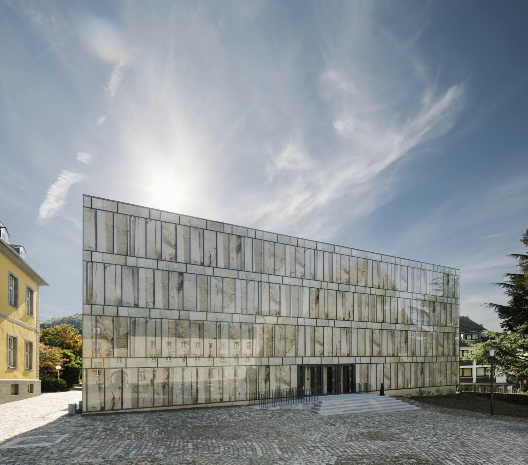 Folkwang bibliothek in essen glas bildung baunetz wissen - Architekt essen ...