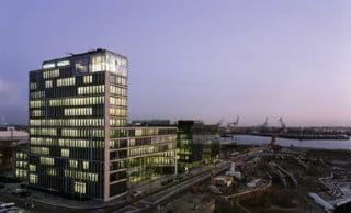 Die Unternehmenszentrale befindet sich in der Hafencity