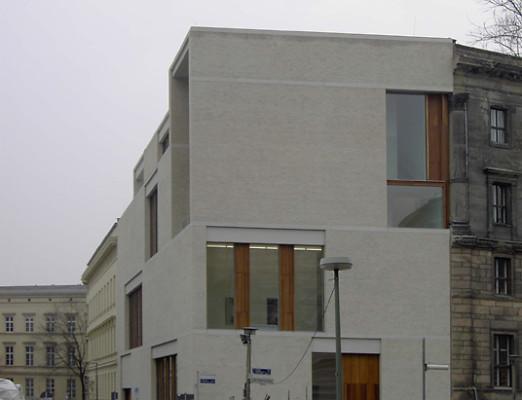galeriehaus am kupfergraben in berlin mauerwerk kultur baunetz wissen. Black Bedroom Furniture Sets. Home Design Ideas