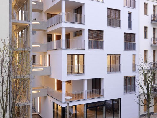 Treppenhaus grundriss mehrfamilienhaus  Mehrfamilienhaus E3 in Berlin | Brandschutz | Wohnbauten ...