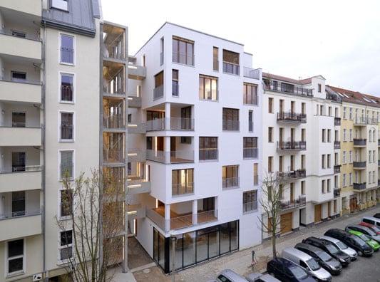 Mehrfamilienhaus e3 in berlin brandschutz wohnbauten - Skelettbau architektur ...