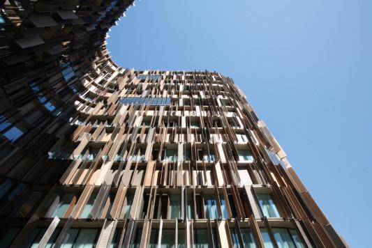 Fassade bürogebäude  Bürogebäude U15 in Mailand | Sonnenschutz | Büro / Verwaltung ...