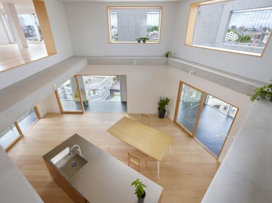 Wohnen In Tokio mehrfamilienhaus in tokio schiefer wohnen mfh baunetz wissen