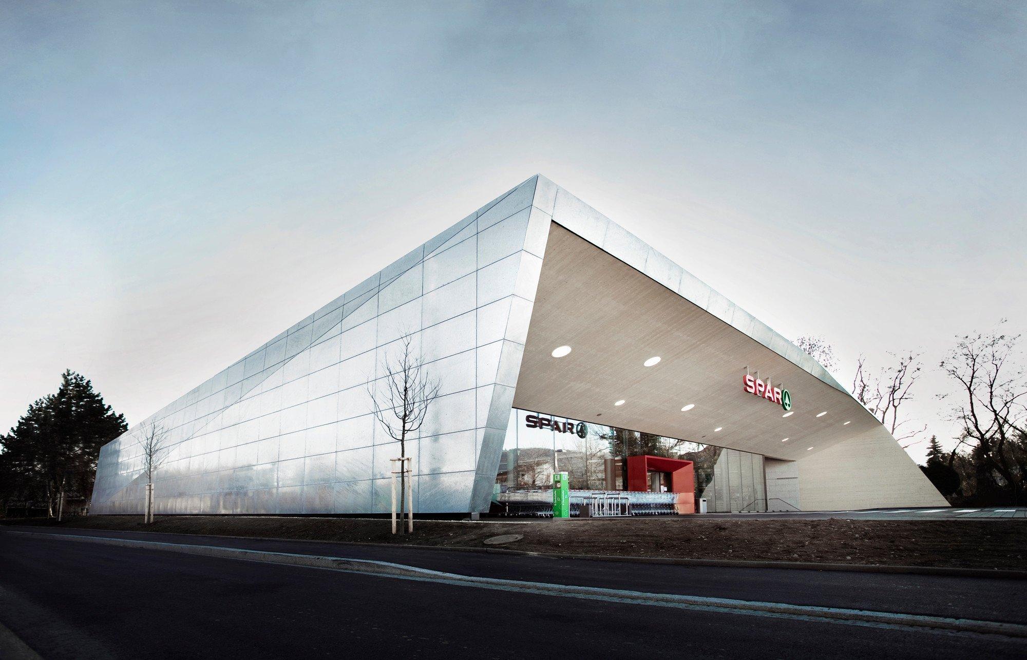Supermarkt In Graz Geb Udetechnik Gewerbe Industrie