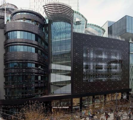 Neugestaltung der Zeilgalerie in Frankfurt