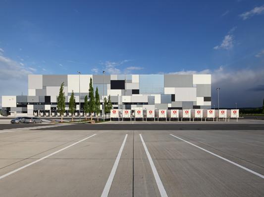 Logistikzentrum in niedernberg d mmstoffe industrie for Das depot niedernberg