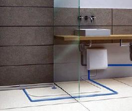 bodengleiche duschen im altbau altbau news produkte baunetz wissen. Black Bedroom Furniture Sets. Home Design Ideas