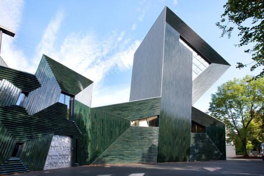 Keramische sonderform baguettes fliesen und platten for Neue architektur stuttgart