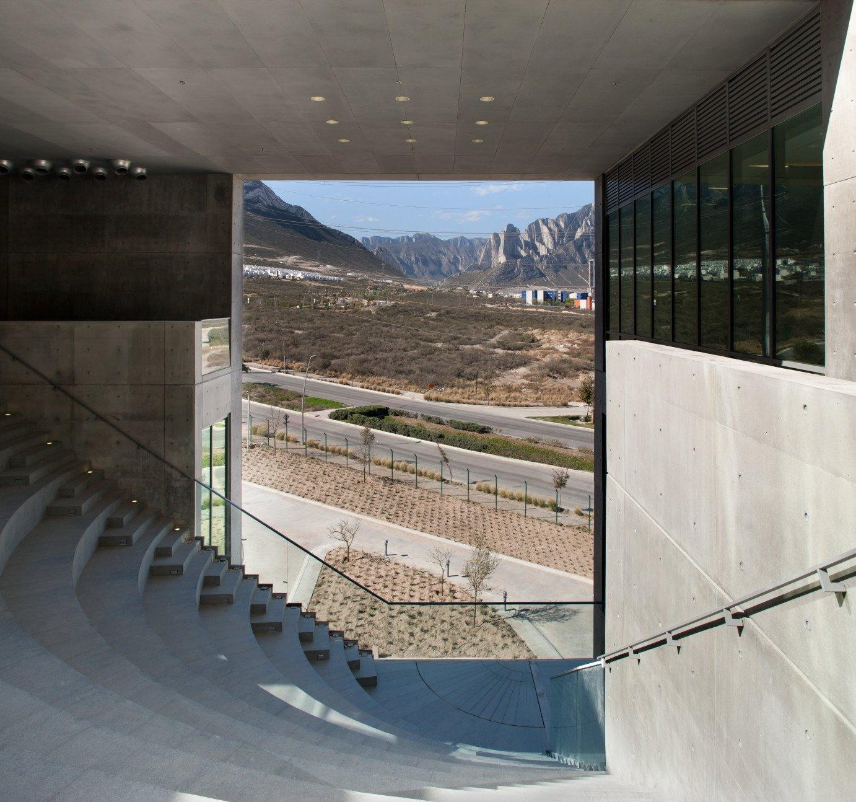 Centro roberto garza sada in monterrey beton bildung for Arquitectura y diseno monterrey