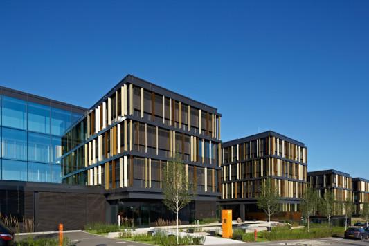 Firmenzentrale der Lalux-Versicherung in Leudelingen