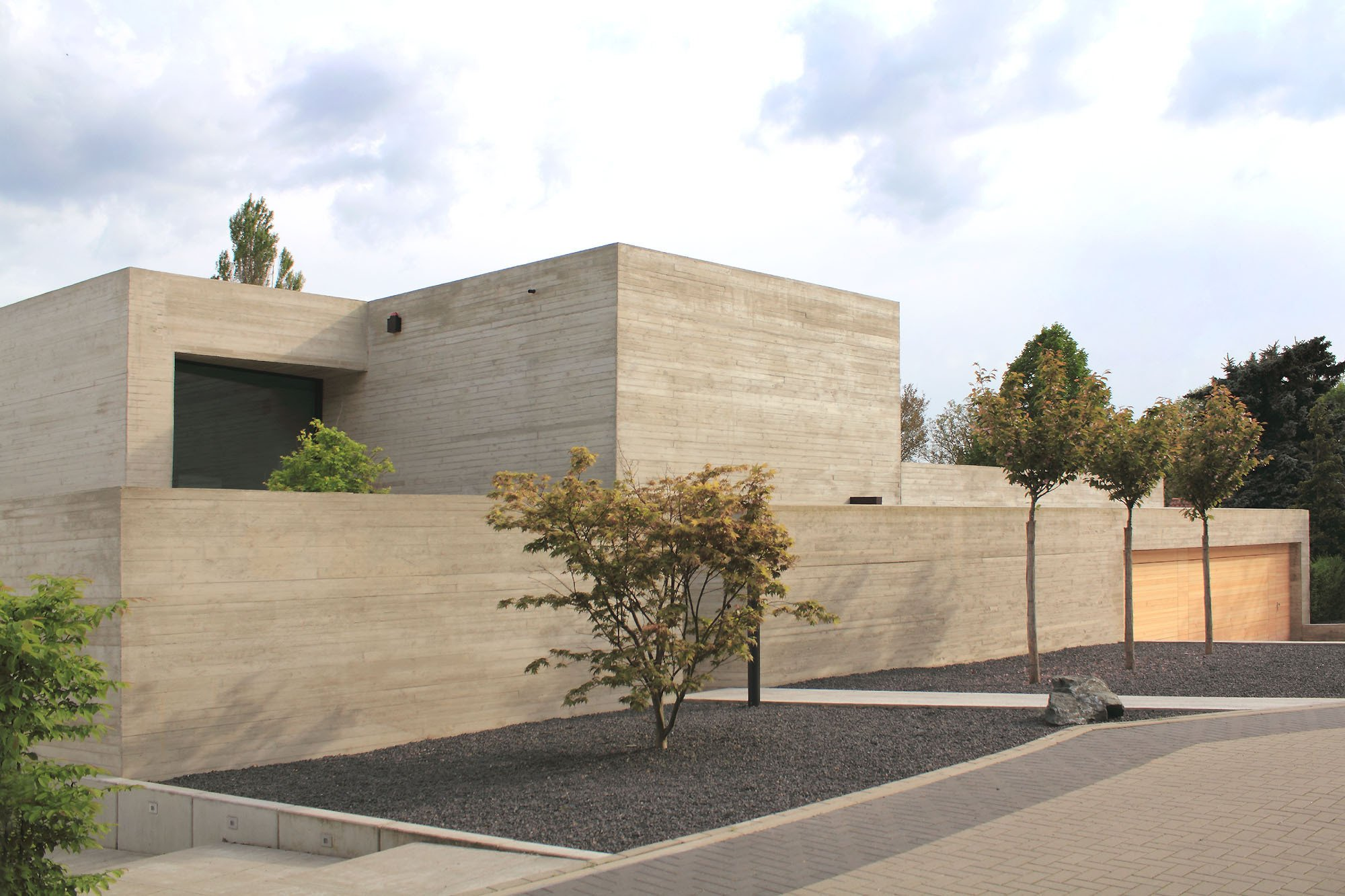Einfamilienhaus in braunschweig querum beton wohnen - Beton architektur ...