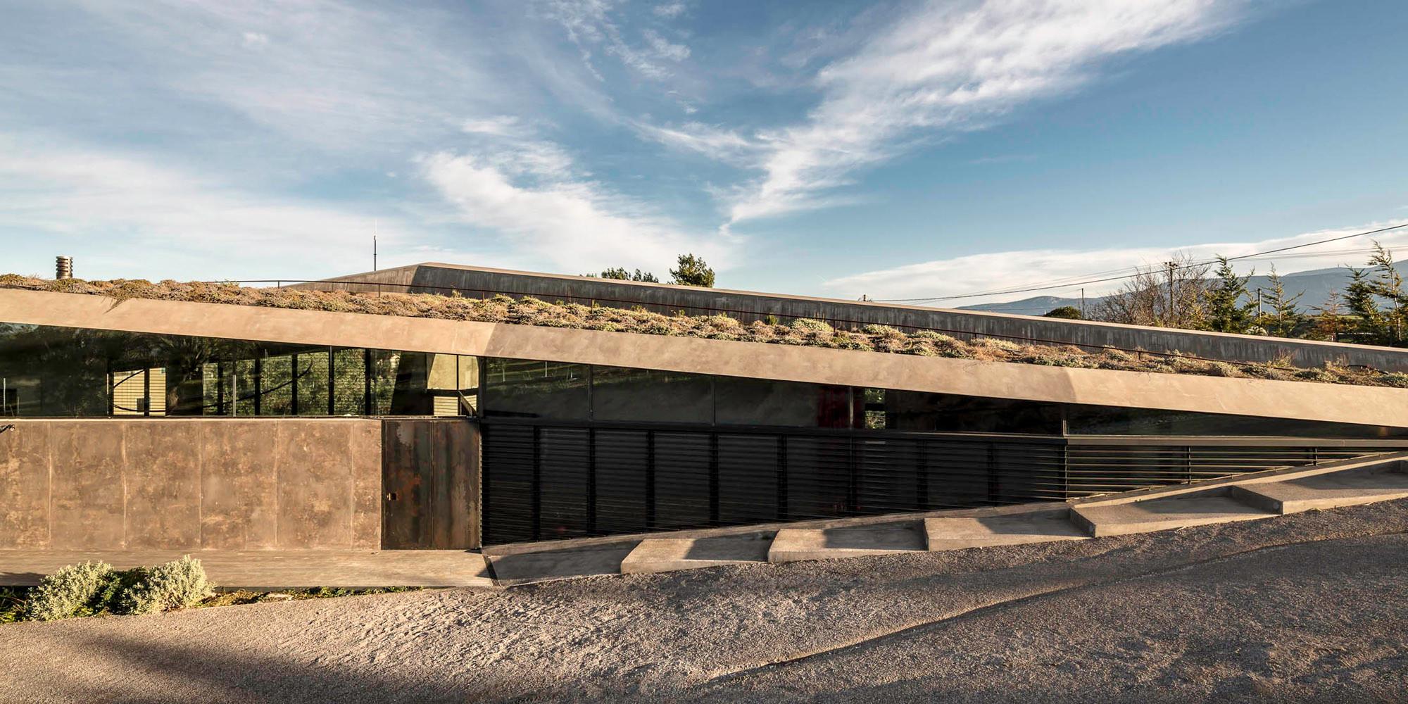 Wohnhaus in sikamino flachdach wohnen baunetz wissen for Angular 1 architecture
