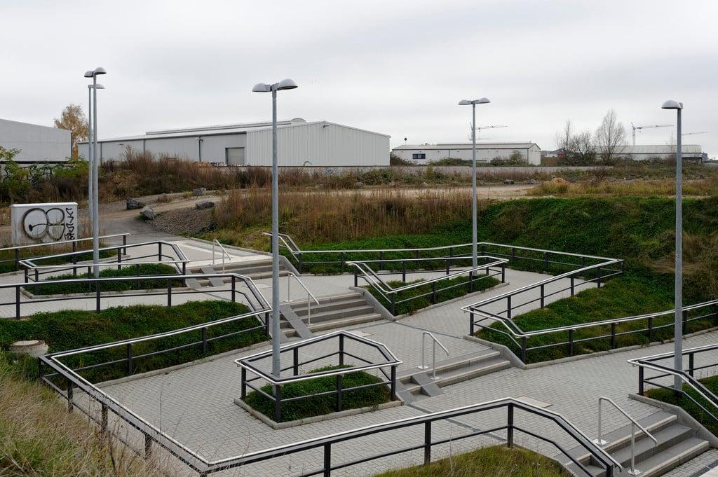 Rampen treppen treppenformen baunetz wissen for Architektur rampe