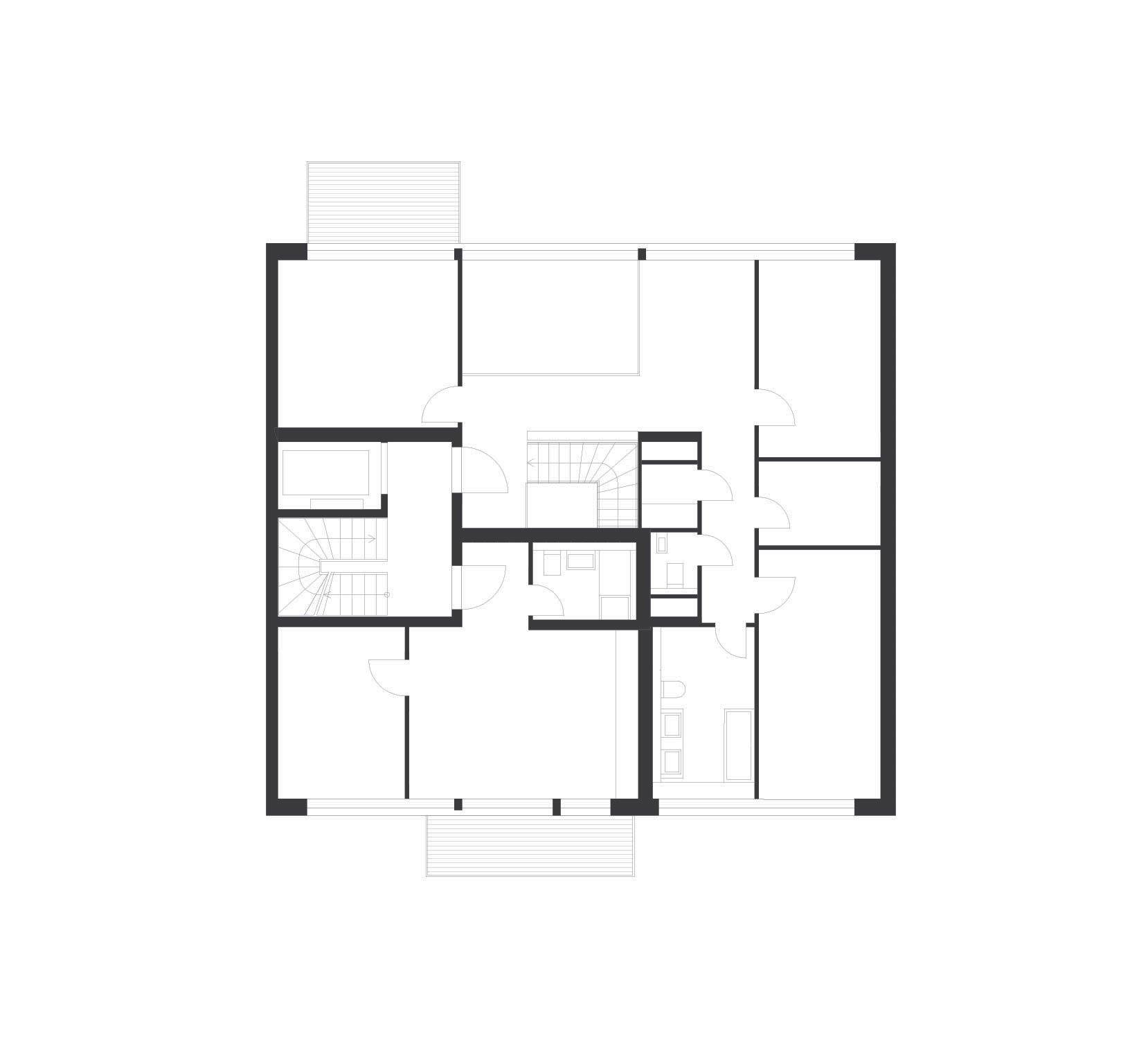 baugruppenhaus b26 in berlin mitte brandschutz wohnbauten baunetz wissen. Black Bedroom Furniture Sets. Home Design Ideas