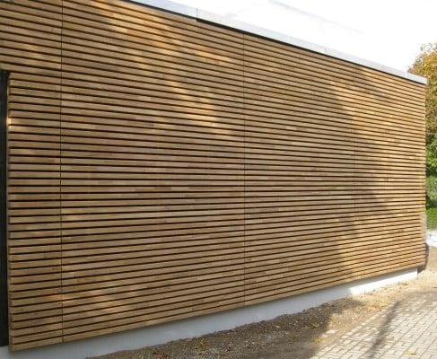Wachs Durchtrankte Holz Fassadenprofile Fassade News Produkte