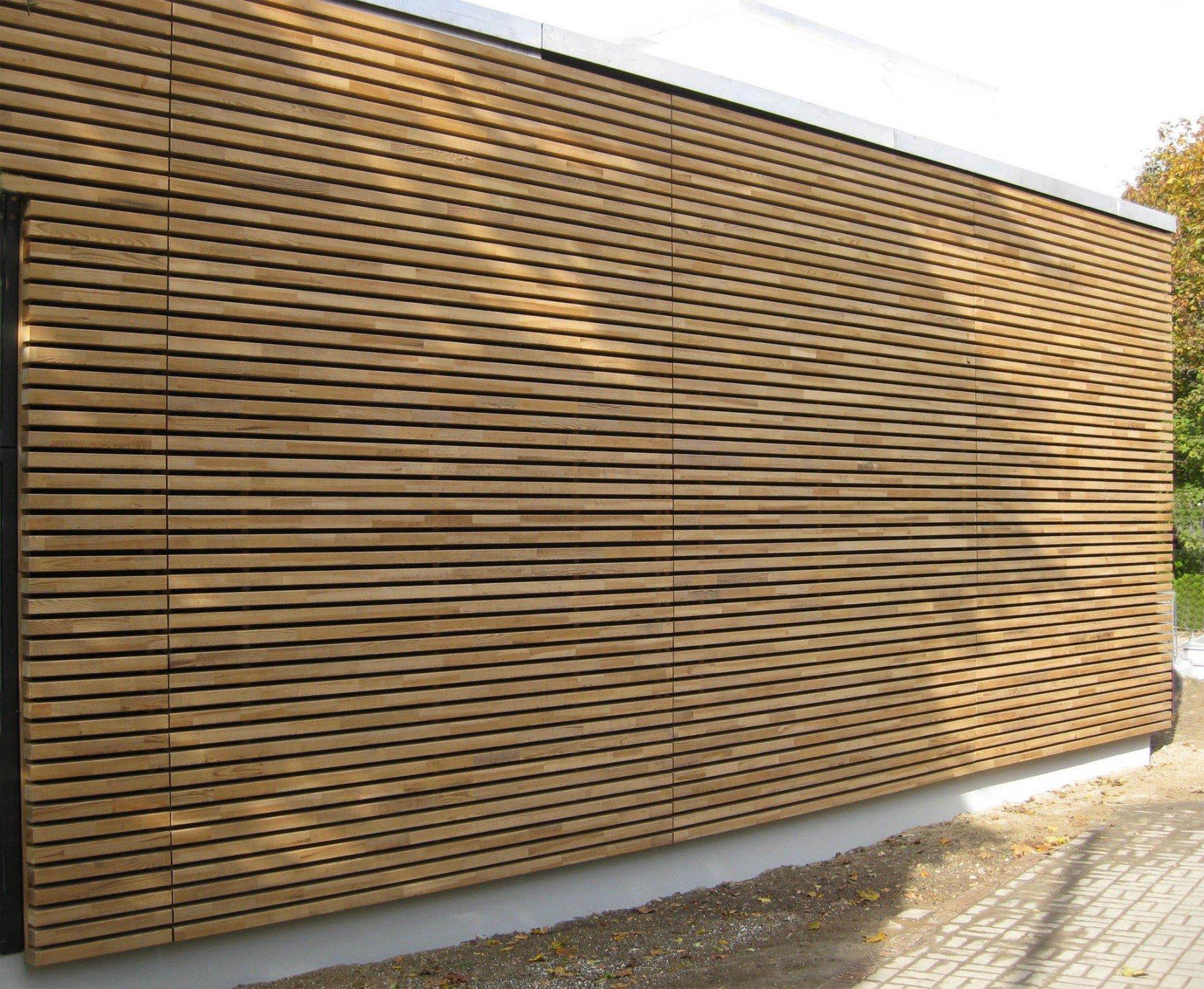 Wachs Durchtr Nkte Holz Fassadenprofile Fassade News