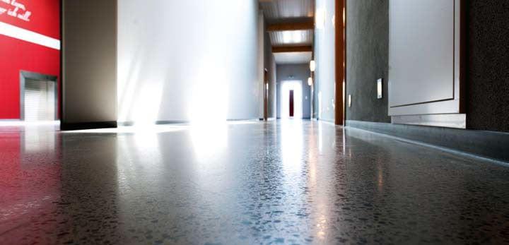 Bevorzugt Geschliffener Beton oder Estrich | Boden | _Estriche | Baunetz_Wissen BN44