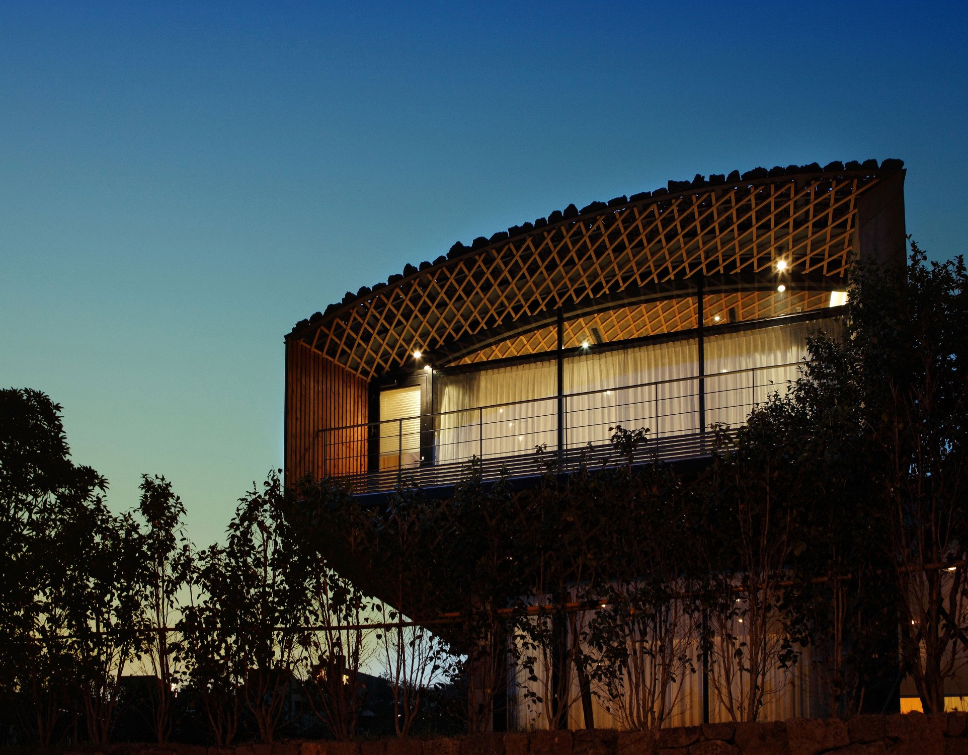 Ferienanlage Lotte Jeju Resort auf Jeju-do | Geneigtes Dach | Wohnen ...