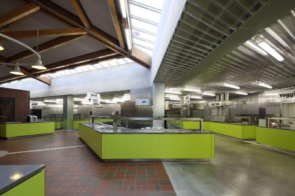 Zentralmensa in Kassel  Altbau  Öffentliche Gebäude  Baunetz_Wissen