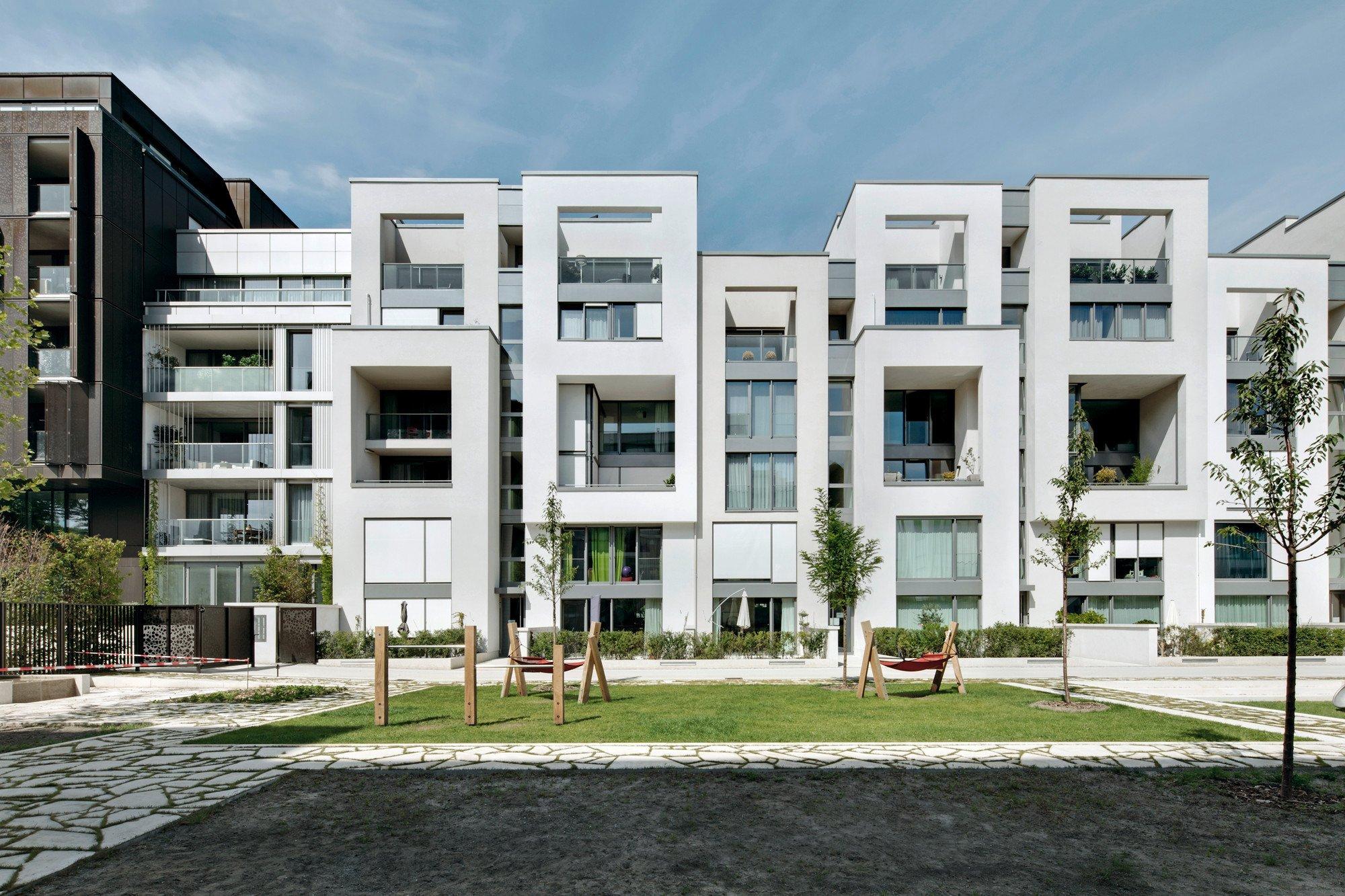 Wohnanlage marthashof in berlin sonnenschutz wohnen for Berlin design